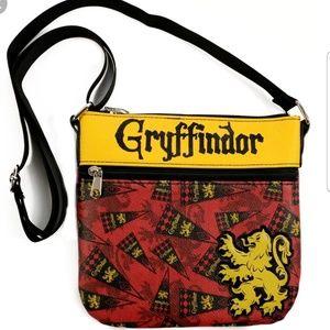 Loungefly Harry Potter Hogwarts Gryffindor Bag NWT